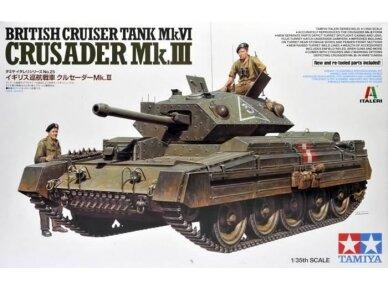 Tamiya - Mk.VI Crusader Mk.III, Mastelis: 1/35, 37025
