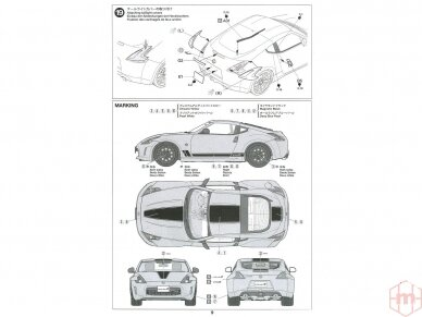 Tamiya - Nissan 370Z Heritage Edition, Mastelis: 1/24, 24348 20