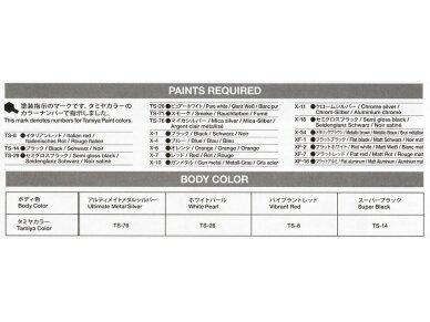 Tamiya - Nissan GT-R(R35), Mastelis: 1/24, 24300 11