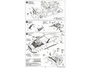 Tamiya - Nissan GT-R(R35), Mastelis: 1/24, 24300 19