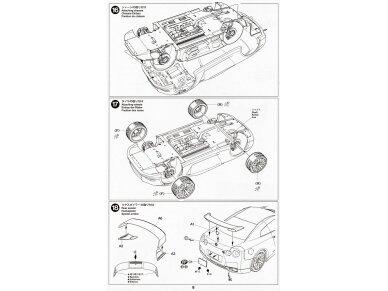 Tamiya - Nissan GT-R(R35), Mastelis: 1/24, 24300 21
