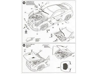 Tamiya - Nissan GT-R(R35), Mastelis: 1/24, 24300 22