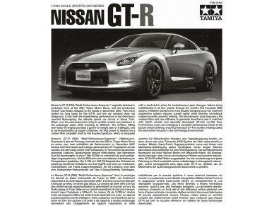 Tamiya - Nissan GT-R(R35), Mastelis: 1/24, 24300 4