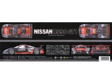 Tamiya - Nissan R390 GT1 Le Mans 24 Hrs 1997, Mastelis: 1/24, 24192 3