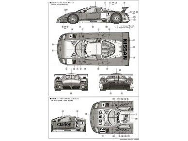 Tamiya - Nissan R390 GT1 Le Mans 24 Hrs 1997, Mastelis: 1/24, 24192 9