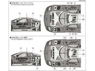 Tamiya - Nissan R390 GT1 Le Mans 24 Hrs 1997, Mastelis: 1/24, 24192 10