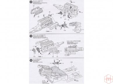 Tamiya - Nissan Skyline 2000 GT-R, Mastelis: 1/24, 24194 11