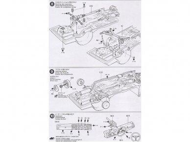 Tamiya - Nissan Skyline 2000 GT-R, Mastelis: 1/24, 24194 13