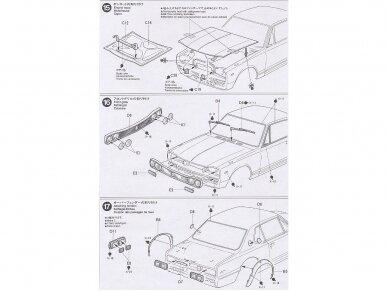 Tamiya - Nissan Skyline 2000 GT-R, Mastelis: 1/24, 24194 16