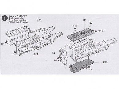 Tamiya - Nissan Skyline 2000 GT-R, Mastelis: 1/24, 24194 10