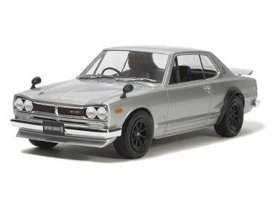Tamiya - Nissan Skyline 2000 GT-R Street Custom, Mastelis: 1/24, 24335 2