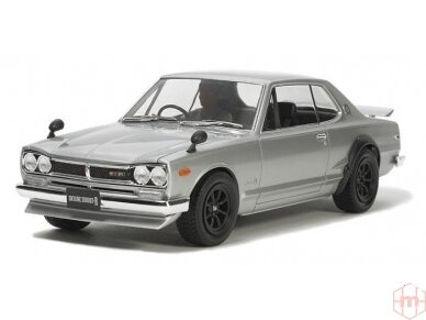 Tamiya - Nissan Skyline 2000 GT-R Street Custom, 1/24, 24335 2