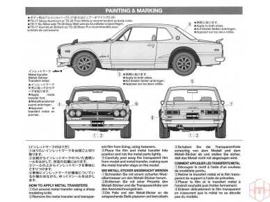 Tamiya - Nissan Skyline 2000 GT-R Street Custom, Mastelis: 1/24, 24335 16