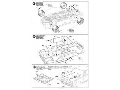 Tamiya - Nissan Skyline 2000 GT-R Street Custom, Mastelis: 1/24, 24335 22