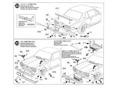 Tamiya - Nissan Skyline 2000 GT-R Street Custom, Mastelis: 1/24, 24335 24