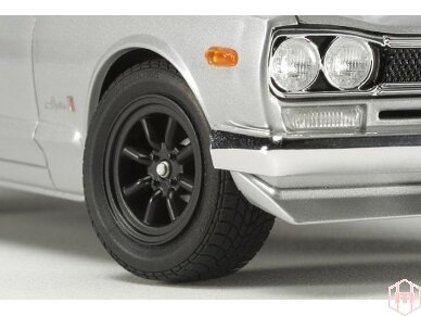Tamiya - Nissan Skyline 2000 GT-R Street Custom, Mastelis: 1/24, 24335 5