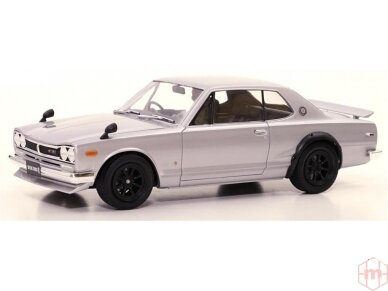 Tamiya - Nissan Skyline 2000 GT-R Street Custom, 1/24, 24335 6