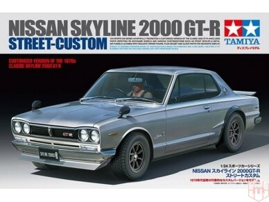 Tamiya - Nissan Skyline 2000 GT-R Street Custom, 1/24, 24335