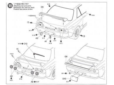 Tamiya - Nissan Skyline GT-R (R32) Nismo Custom, Mastelis: 1/24, 24341 16