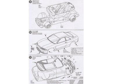 Tamiya - Nissan Skyline R33 GT-R V-Spec, Mastelis: 1/24, 24145 11