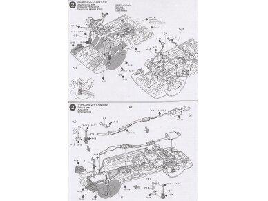 Tamiya - Nissan Skyline R33 GT-R V-Spec, Mastelis: 1/24, 24145 9