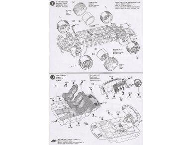 Tamiya - Nissan Skyline R33 GT-R V-Spec, Mastelis: 1/24, 24145 10