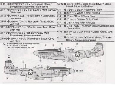 Tamiya - North American F-51D Mustang, Scale: 1/72, 60754 5