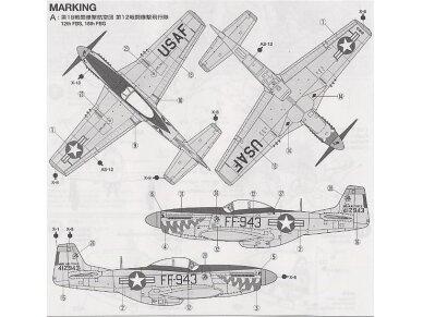 Tamiya - North American F-51D Mustang, Scale: 1/72, 60754 6