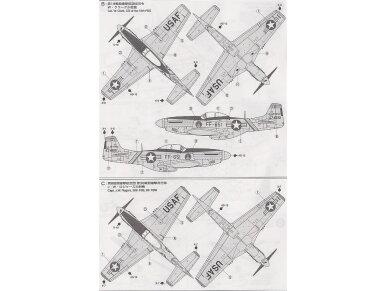 Tamiya - North American F-51D Mustang, Scale: 1/72, 60754 7
