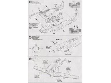 Tamiya - North American F-51D Mustang, Mastelis: 1/72, 60754 8