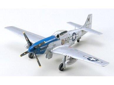 Tamiya - North American P-51D Mustang, Mastelis: 1/72, 60749 2