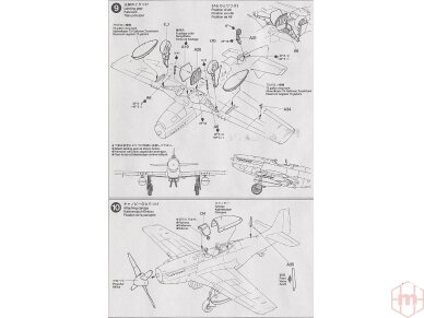 Tamiya - North American P-51D Mustang, Mastelis: 1/72, 60749 11