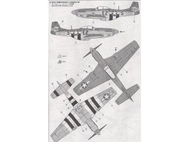 Tamiya - North American P-51D Mustang, Mastelis: 1/72, 60749 7
