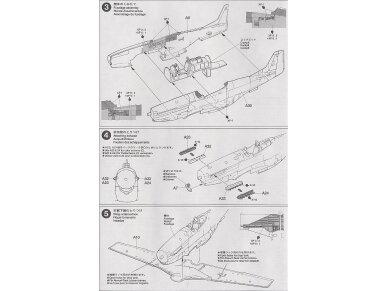 Tamiya - North American P-51D Mustang, Mastelis: 1/72, 60749 9