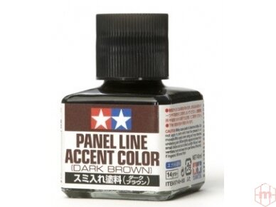 Tamiya - Panel line accent color Dark Brown, 40ml, 87140