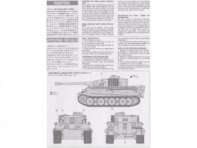 Tamiya - Panzerkamfwagen VI Tiger I Ausfürung E (Sd.Kfz.181) Frühe Produktion, Mastelis: 1/35, 35216 6
