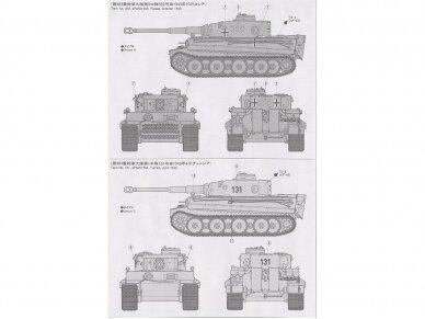 Tamiya - Panzerkamfwagen VI Tiger I Ausfürung E (Sd.Kfz.181) Frühe Produktion, Mastelis: 1/35, 35216 7