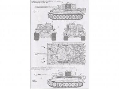 Tamiya - Panzerkamfwagen VI Tiger I Ausfürung E (Sd.Kfz.181) Frühe Produktion, Mastelis: 1/35, 35216 8
