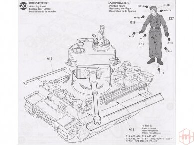 Tamiya - Panzerkamfwagen VI Tiger I Ausfürung E (Sd.Kfz.181) Frühe Produktion, Mastelis: 1/35, 35216 10
