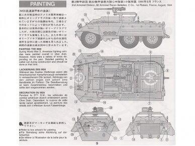 Tamiya - U.S. M20 Armored Utility Car, Scale: 1/35, 35234 3