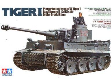 Tamiya - Panzerkamfwagen VI Tiger I Ausfürung E (Sd.Kfz.181) Frühe Produktion, Mastelis: 1/35, 35216