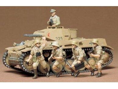 Tamiya - Panzerkampfwagen II Ausf. F/G, Mastelis: 1/35, 35009 2