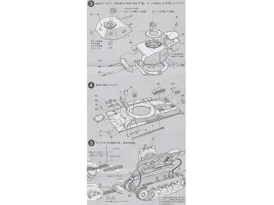 Tamiya - Panzerkampfwagen II Ausf. F/G, Mastelis: 1/35, 35009 9