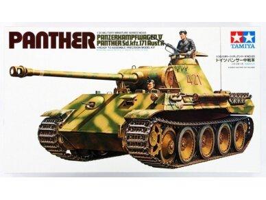 Tamiya - Panzerkampfwagen V Panther (Sd.kfz. 171) Ausf. A, Mastelis: 1/35, 35065
