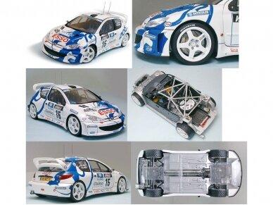 Tamiya - Peugeot 206 WRC, Mastelis: 1/24, 24221 2