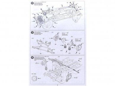 Tamiya - Peugeot 206 WRC, Mastelis: 1/24, 24221 10