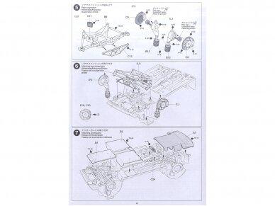 Tamiya - Peugeot 206 WRC, Mastelis: 1/24, 24221 11