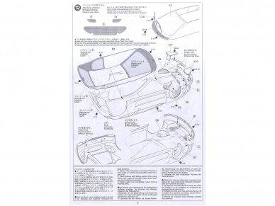 Tamiya - Peugeot 206 WRC, Mastelis: 1/24, 24221 14