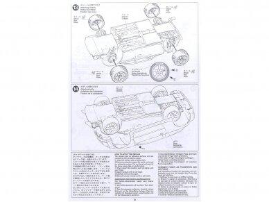 Tamiya - Peugeot 206 WRC, Mastelis: 1/24, 24221 15