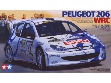 Tamiya - Peugeot 206 WRC, Mastelis: 1/24, 24221